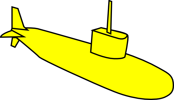 Yellow Submarine Clip Art at Clker.com - vector clip art online ...