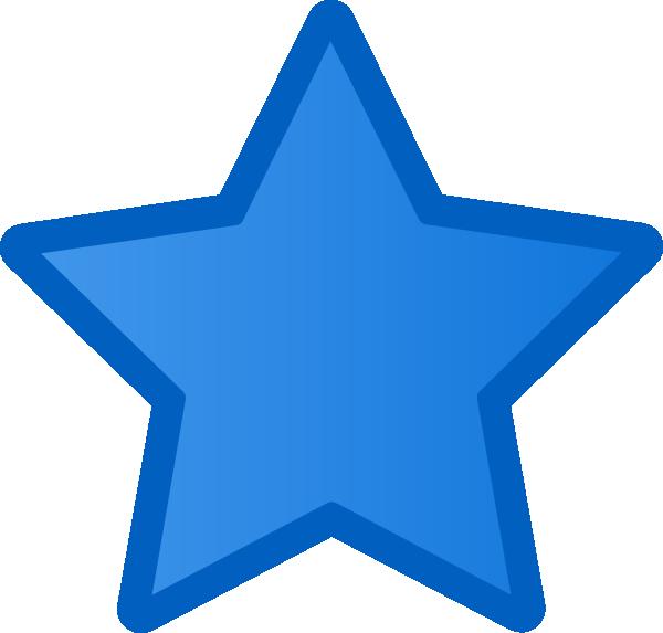 Blue Star Clip Art at Clker.com - vector clip art online ...