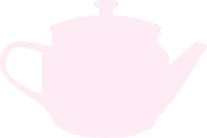 Pink Tea Pot Clip Art