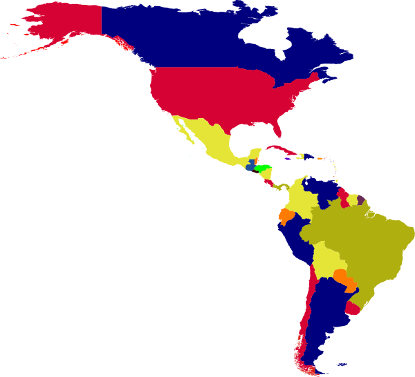 south america map clipart - photo #24