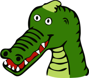 Cartoon Crocodile Clip Art