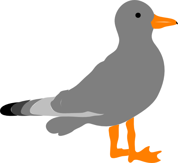 Sea Gull Clip Art at Clker.com - vector clip art online, royalty free ...