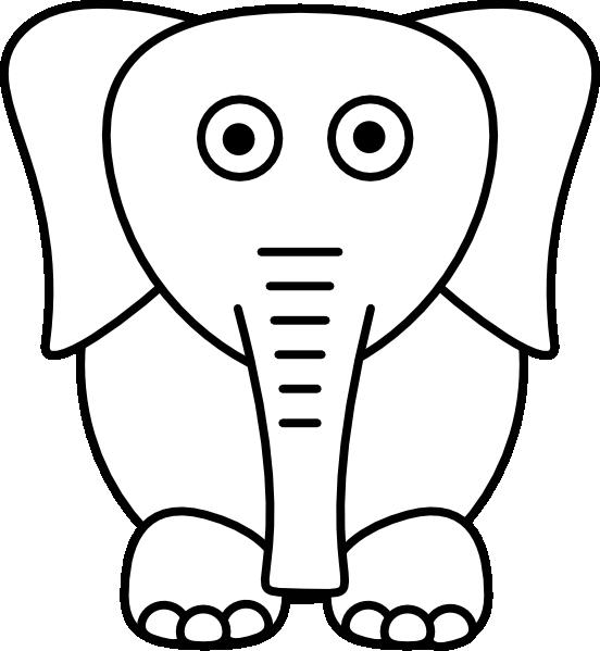 White Elephant Clip Art At Clker Com Vector Clip Art