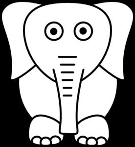white elephant clip art at clker com vector clip art online rh clker com white elephant game clip art white elephant christmas clip art