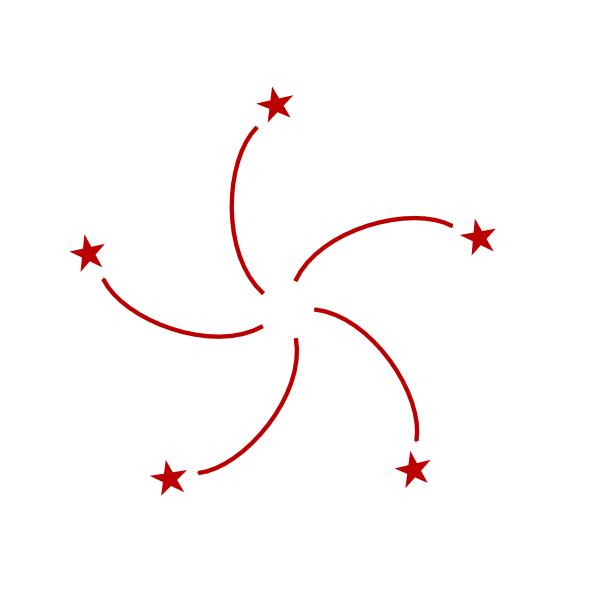 Hong Kong Flag Coloring Page