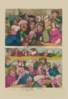 Comedy In The Country. Tragedy In London  / Rowlandson, Scul. Clip Art