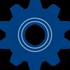 Gear Blue Clip Art at Clker.com - vector clip art online ...