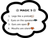 Magic Five Chart1 Clip Art