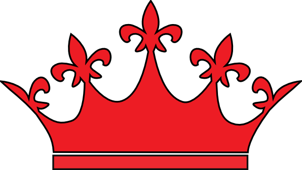 red crown clipart - photo #9