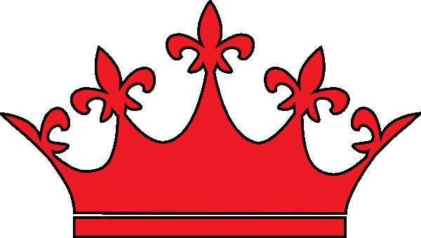 queen crown red clip art at clker com vector clip art princess tiara clip art black and white princess tiara clipart image