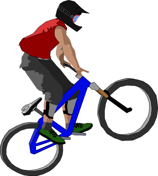 Bike Clip Art at Clker.com - vector clip art online, royalty free ...
