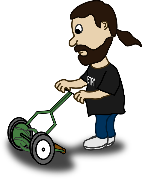 free clipart images lawn mower - photo #44