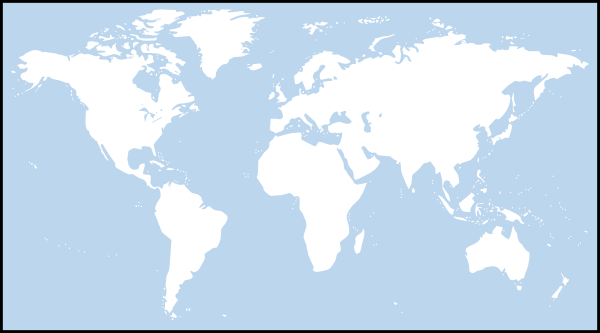 Light blue world map clip art at clker vector clip art online download this image as gumiabroncs Choice Image