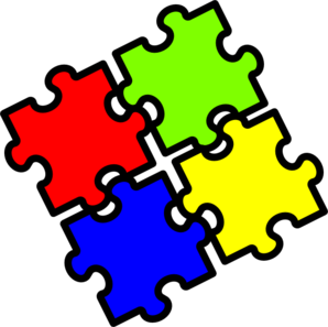 Jigsaw Fitting Together Clip Art