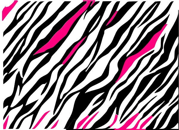 Black and white zebra print background clip art at clker com vector clip art online royalty free public domain