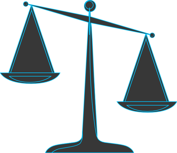 legal scales clipart - photo #31