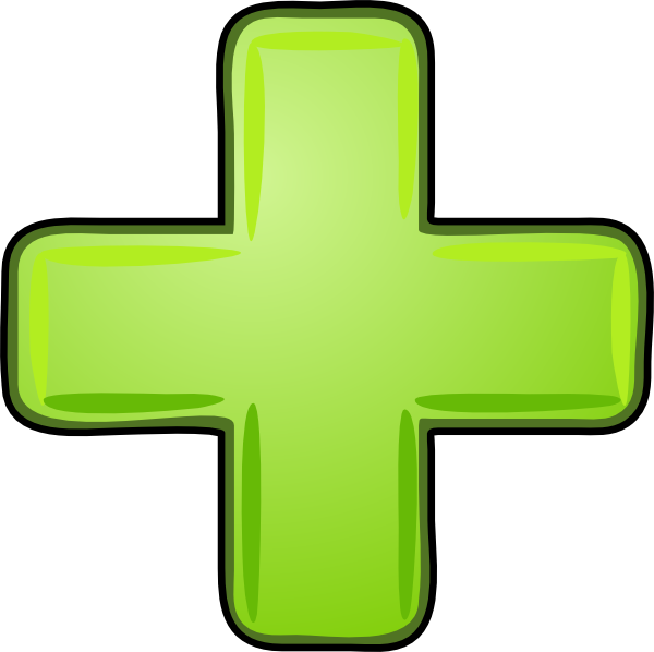 Plus Icon Green Clip Art at Clker.com - vector clip art ...