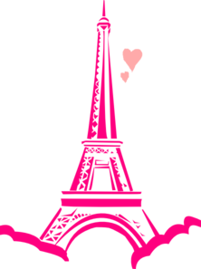 Love Paris Clip Art