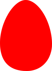 Red Egg Clip Art