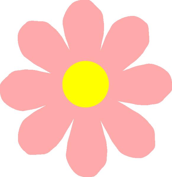 Pink Flower 101 Clip Art At Clker Com Vector Clip Art Online