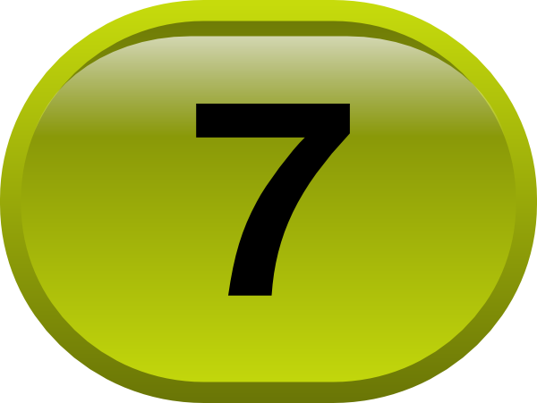 button for numbers 7 clip art at clker     vector clip