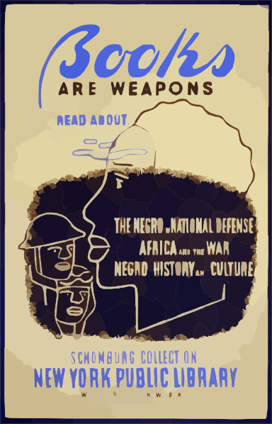 Books are weapons read about the negro in national for New york culture facts