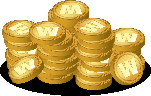 Gold Coins Clip Art At Clker.com