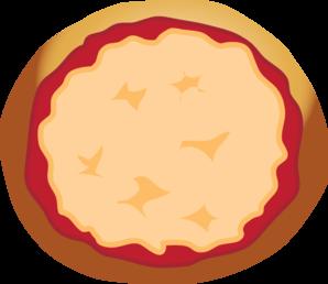 Pizza Plain Clip Art at Clker.com - vector clip art online, royalty ...