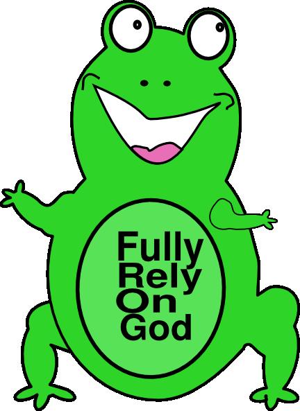 Fully Rely On God Clip Art at Clkercom vector clip art online