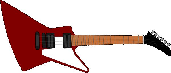 Guitar For Cake Clip Art At Clker Com Vector Clip Art