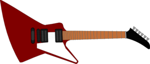 Guitar For Cake Clip Art