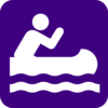 Kayaking  Clip Art