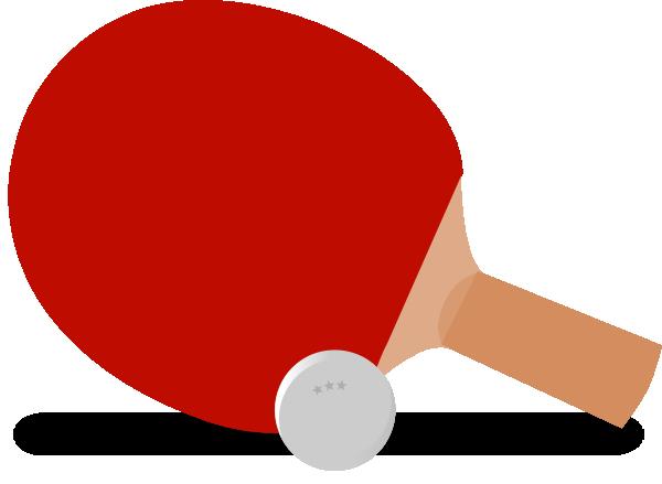Ping Pong Paddle Clipart,Ping Pong - 20.1KB