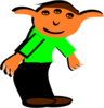 Cartoon Elf Clip Art