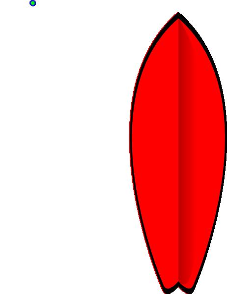 red surfboard clip art at clker com vector clip art online rh clker com clip art surfboard letters free surfboard clip art images