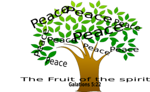 Peace Tree Clip Art