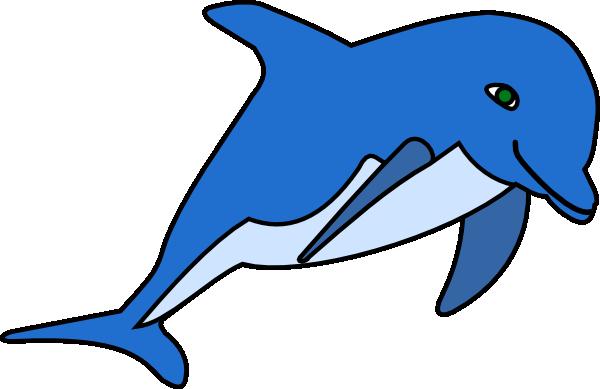 dolphin clip art at clker com vector clip art online royalty free rh clker com Jumping Dolphin Clip Art dolphin images clip art free