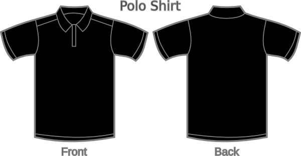 T Shirt Clipart Front And Back
