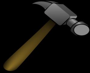 Clip Art Clipart Hammer hammer clip art at clker com vector online royalty art