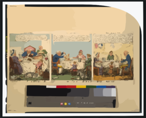 John Bull S Three Stages Or, From Good To Bad & From Bad To Worse  / G. Cruikshank Fect. Clip Art