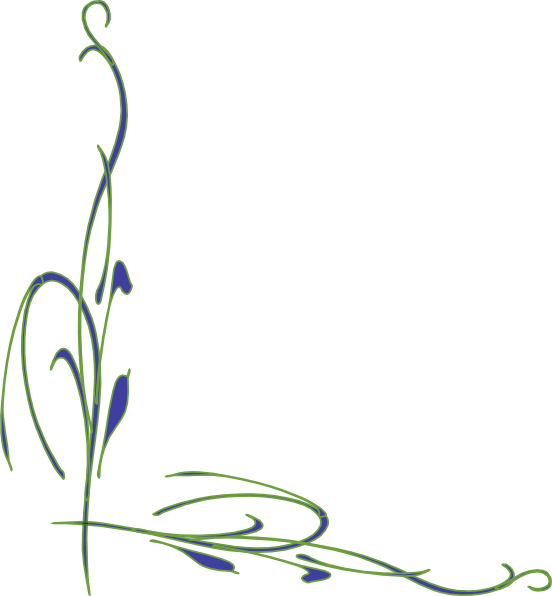 Download this image as Flower Vine Clipart
