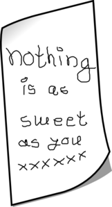 Nothing Is As Sweet As You Clip Art