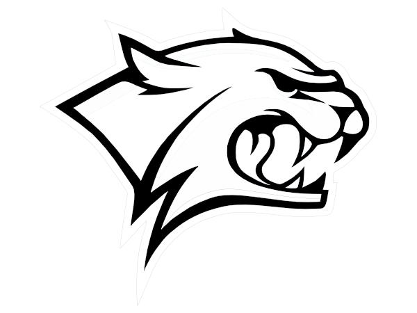 Wildcat Outline Clip Art at Clker.com - vector clip art ...