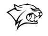 Wildcat Outline Clip Art