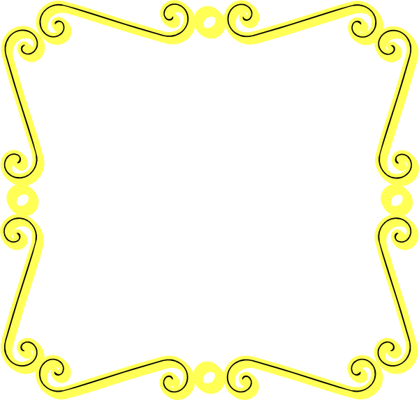 yellow frame clipart - photo #20