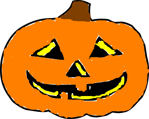 jack o lantern faces clip art - photo #16