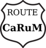 Route Carum 2 Clip Art