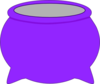 Purple Pot Clip Art