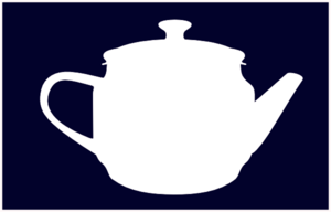 Tea White Pot Clip Art