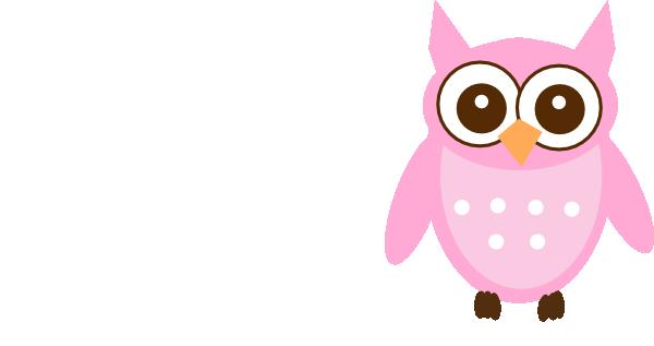cute pink owl clip art at clker com vector clip art online rh clker com